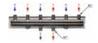 Распределительный коллектор HV 60/125 (2 м3 /ч - 50 кВт)