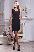 Женское платье короткое