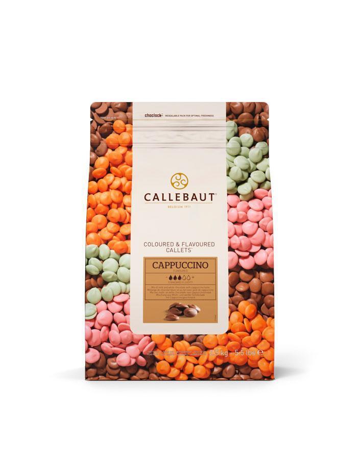 Barry Callebaut Cappuccino Молочний шоколад зі смаком капучіно, по 2.5 кг 4 упаковки