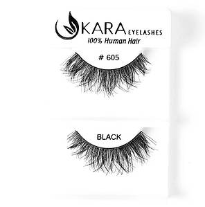 Накладные ресницы Kara™ False Strip Eyelashes  #605