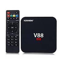 Приставка Android смарт IPTV TV ТВ box V88 Mars 1Гб 8Гб