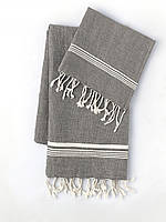 Полотенце Towel Oyster MKrespi 100х180 см Антрацит (OYS2120)