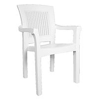 Кресло Side белое (Papatya-TM)