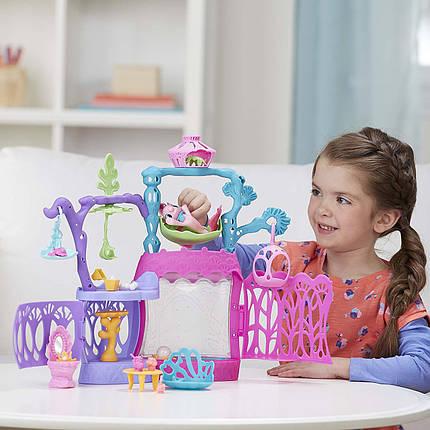 Май Литл Пони Подводный замок Мерцание Лагуны с русалкой Пинки Пай My Little Pony: The Movie Seashell Lagoon , фото 2