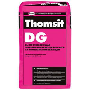 Самовыравнивающаяся смесь thomsit DG, 25кг, фото 2