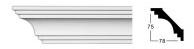 Карниз профильный PC-1054. PERIMETER, фото 2