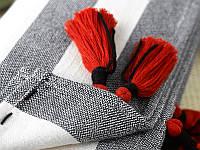 Плед THROW REDFISH MKrespi 150х220 cм Серый (RED2220)