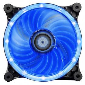 Вентилятор Xigmatek Solar eclipse II SEII-F1251 Blue LED (EN8996)