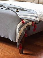 Покрывало THROW REDFISH Mkrespi 150х220 cм Серый (RED2220)