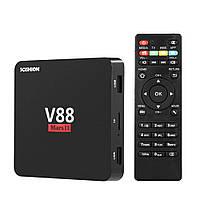 Приставка Android смарт  IPTV TV ТВ box V88 Mars II 2 2Гб 8Гб, фото 1