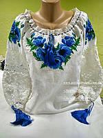 Блуза женская с вышивкой БЖ 512-16/08,вышиванка, вышитая блузка, вишита блузка, вишиванка