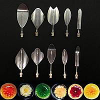 Набор насадок + шприц для создания 3-D цветов в желе