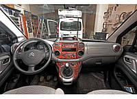 Автотюнинг салона Peugeot Partner Tepee (Мерич) под алюминий