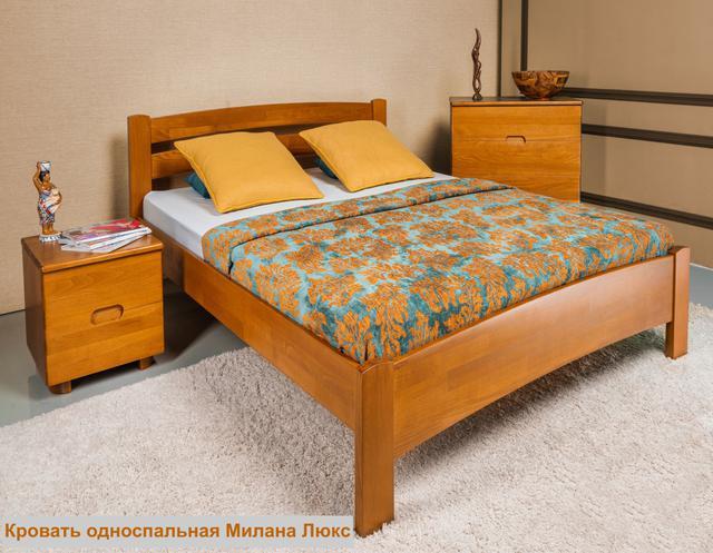 Кровать односпальная Милана Люкc (Интерьер)