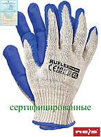 Защитные рукавицы, покрытые удвоенным слоем резины RUFLEX WN