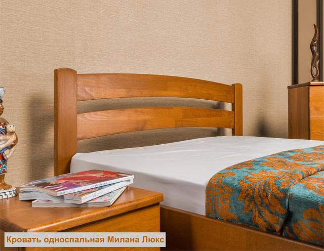 Кровать односпальная Милана Люкc (Интерьер) фото 3