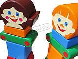 """Дитячий ігровий модульний набір """"Друзі"""" KIDIGO, фото 3"""