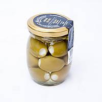 Маслины зеленные  фаршированные сыром «Фета» 0,22 л