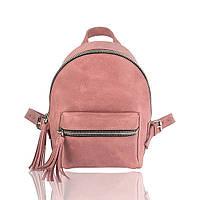 Рюкзак кожаный фрезовый, фото 1