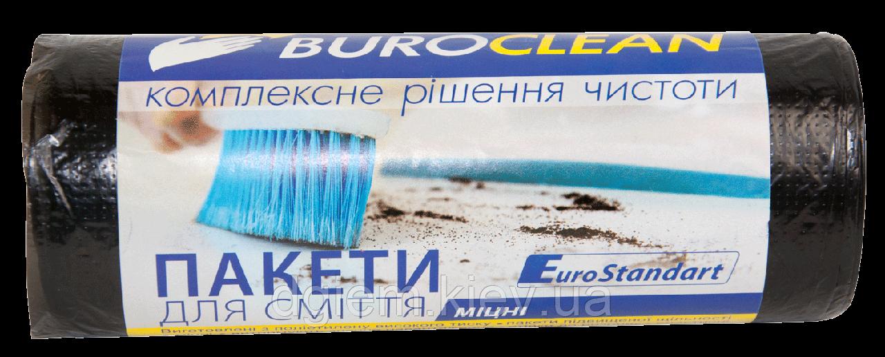 Пакеты для мусора 60л 20шт прочные BuroClean