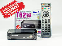 Цифровой T2 тюнер World Vision T62M WiFi+YouTube+IPTV