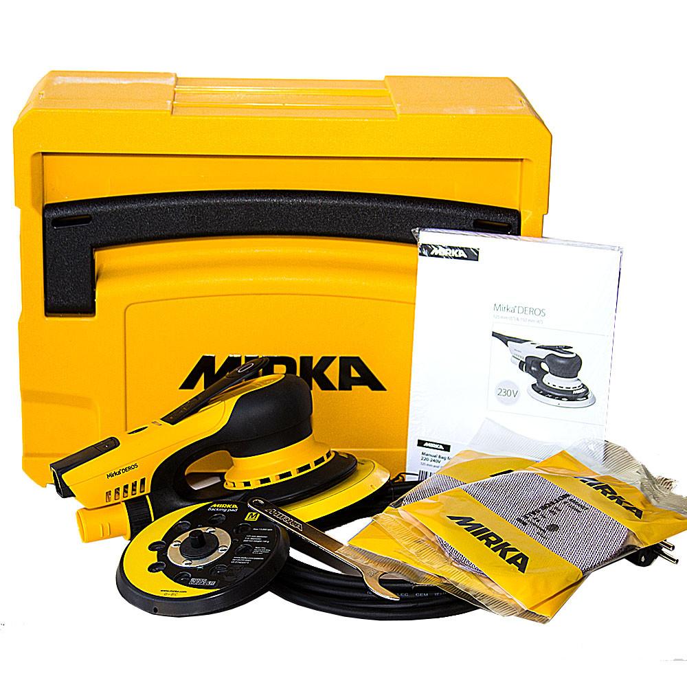 Шлифовальная машинка электрическая 350 Вт, 4000-10000 об/мин, 125-250 мм MIRKA DEROS 5650CV MID5650202CA