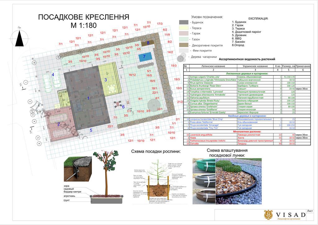 Ландшафтное проектирование г. Киев р-н Берковцы 4