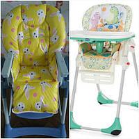 Чехлы на детские стульчики для кормления Chicco Polly 2в1