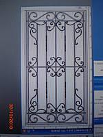 Решетка на окно сварная с элементами ковки - 28