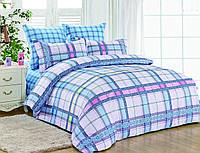 Двуспальный комплект постельного белья евро 200*220 сатин (7483) TM KRISPOL Украина