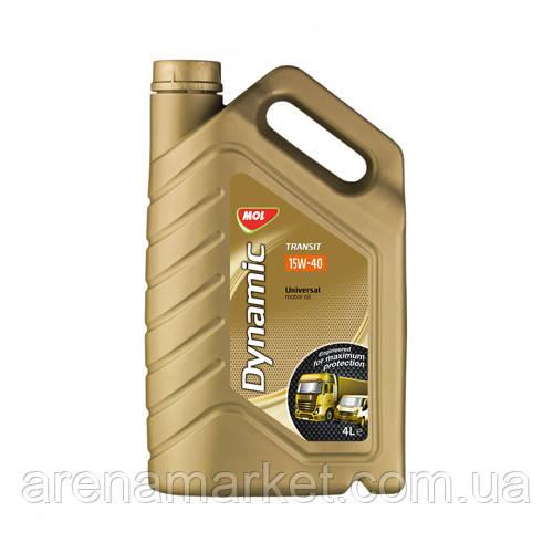 Минеральное моторное масло MOL Dynamic Transit 15W-40 - 4л