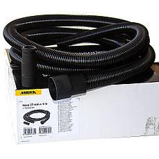 Шланг отвода пыли антистатический 27 мм х 4 м + адаптер MIRKA MIN6519411