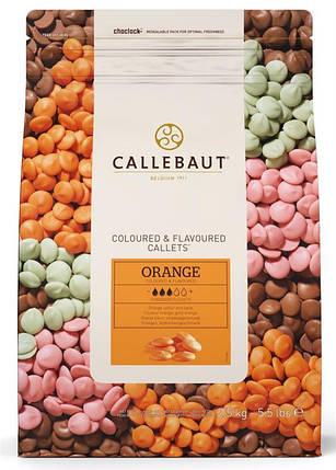 Barry Callebaut ORANGE-E4-U70 Оранжевий шоколад зі смаком апельсину, по 2.5 кг, фото 2