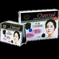 Belov Charcoal Whitening Face Mask Cream / Отбеливающая маска на основе бамбукового угля (1 шт)38 мл