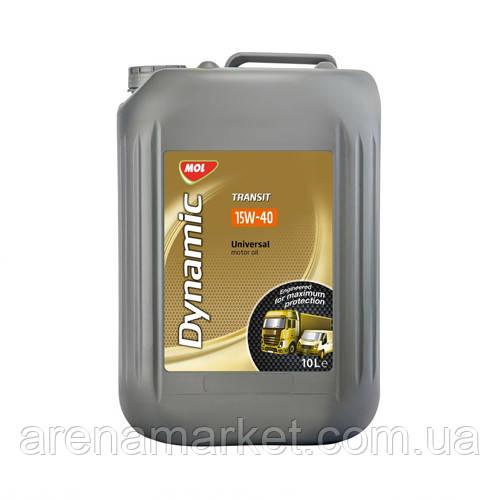 Минеральное моторное масло MOL Dynamic Transit 15W-40 - 10л