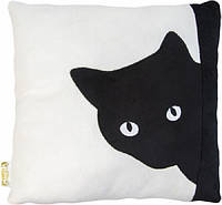 Мягкая игрушка Тигрес Подушка Черный кот (ПД-0200)