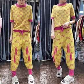 Женский костюм хлопок с добавкой, фото 2