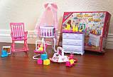 Кукольная мебель Глория Gloria 9929 красивейшая детская комната, фото 3