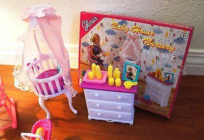 Кукольная мебель Глория Gloria 9929 красивейшая детская комната
