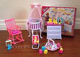 Кукольная мебель Глория Gloria 9929 красивейшая детская комната, фото 4