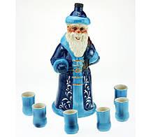 Коньячный набор Дед Мороз, 7 предметов