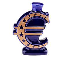€ ЕВРО - графин штоф,2 цвета (деньги MSE)
