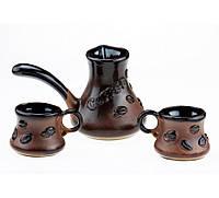 """Набор кофейный с камином """"coffee bean"""", 4 предмета, фото 1"""