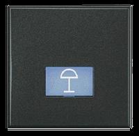 Axolute Клавиши с подсвечиваемыми символами для выключателей в дизайне AXIAL - 2 модуля, настольный свет, цвет