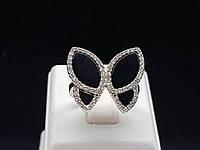 Серебряное кольцо с фианитами. Артикул 54457 16,5, фото 1