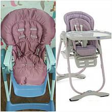 Чехлы на детские стульчики для кормления Chicco Polly Magic 3в1