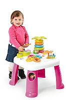 Детский игровой стол Smoby Cotoons Цветочек Розовый (211170)