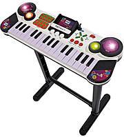 Музыкальный инструмент Simba Клавишные-парта с разъемом для MP-3 плеера 31 клавиша 67 см (683 2609)