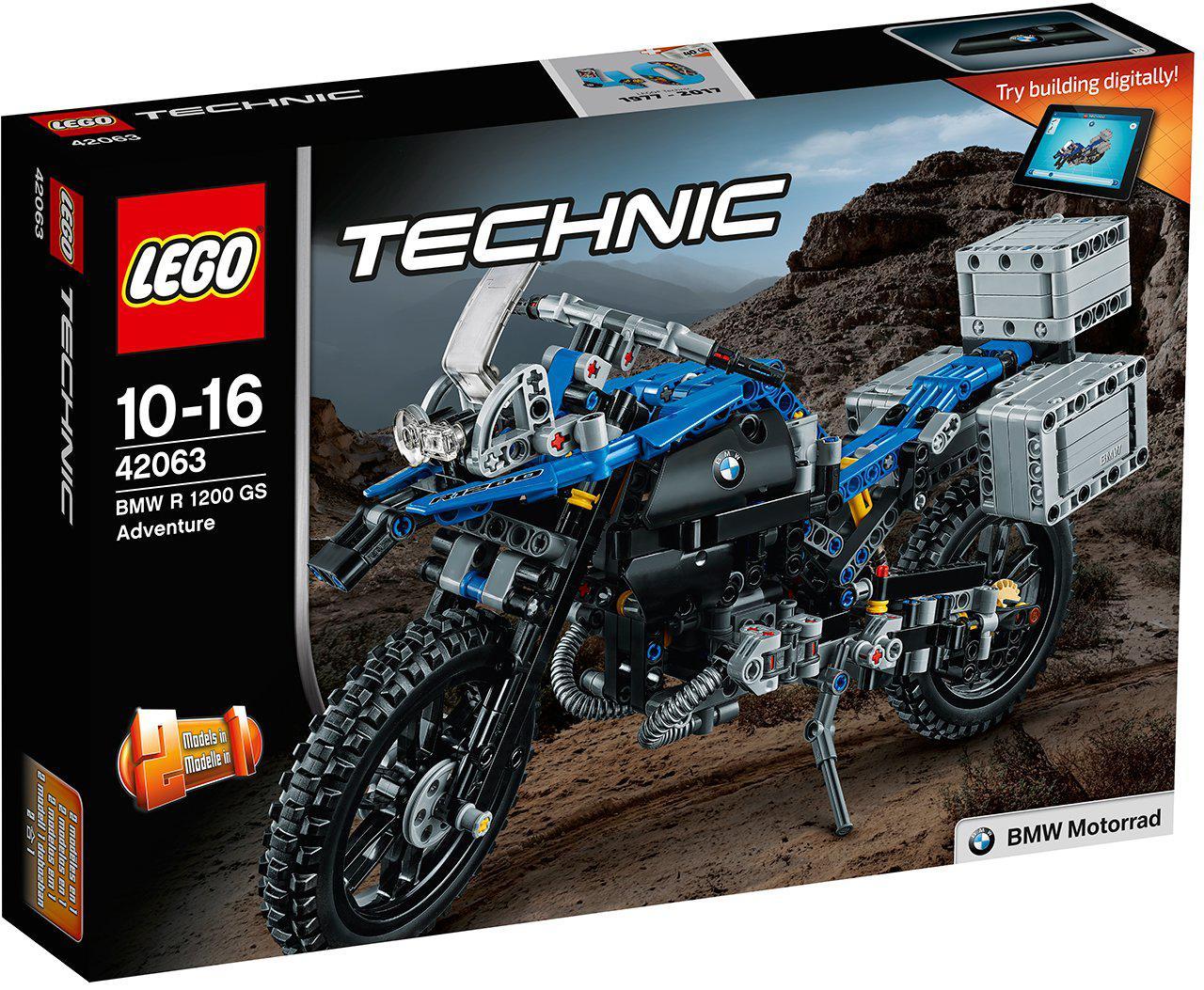 Конструктор «LEGO» (42063) Приключения на BMW R 1200 GS