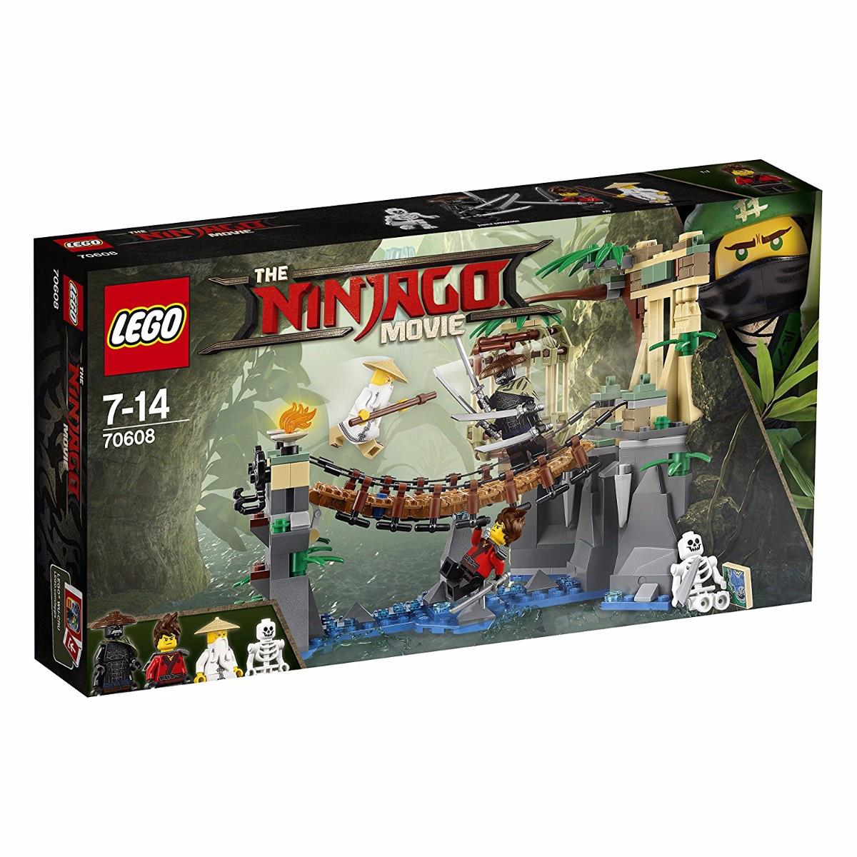 Конструктор «LEGO» (70608) Битва Гармадона и Мастера Ву